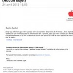 Phishing : itunes